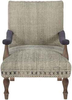 Loki Kilim Chair - Arm Chair - Accent Chair - Living Room Chair - Upholstered Chairs | HomeDecorators.com