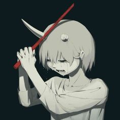 Mysterious Illustrations Of Mental Struggles By Japanese Artist Avogado6