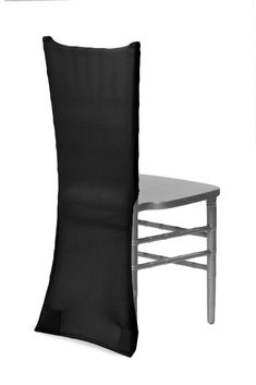 Spandex Chiavari Chair Back Cover - Black ● As Low as $2.49 ● Available from www.cvlinens.com