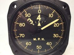 Air speed indicator in MPH