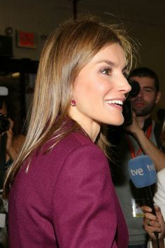 Queens & Princesses - King Philip and Queen Letizia began an official three-day trip to New York, mainly to attend the General Assembly of the United Nations, where the king has his first speech to an international dimension.