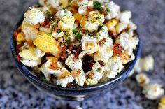 Furikake kettle corn!  party food!