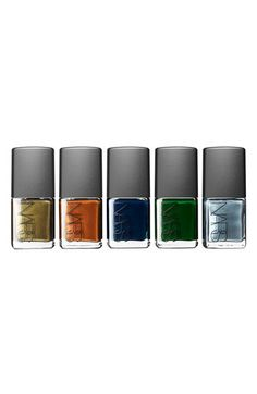 Nars Vintage Colors nail polishes
