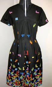 A tetris dress? A TETRIS DRESS?! Yes please!!