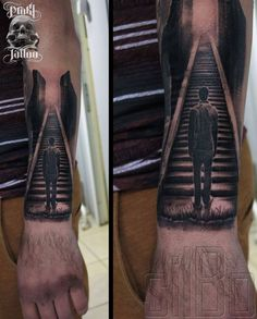 Steps to Heaven Tattoo | Stairway to heaven by SilBo .