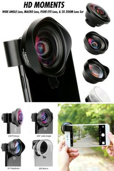 Universal detachable clamp design, It can fit on any device iPhone, Samsung, Windows, HTC ,Lumia, LG smart phones, for iPad, Tablet PC and Laptops 99.9% smartphones on market) or anywhere you can imagine, both front- and rear-facing cameras. Turn your mobile device into DSLR camera lens easily. Soft rubber clip will not scratch or damage your mobile device