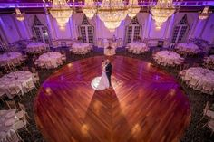 Classic ballroom wedding at The Crystal Plaza. New Jersey wedding.