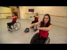 Ladies exercising in wheelchairs