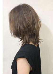 Pin on Long Hairstyles Pin on Long Hairstyles Haircut For Thick Hair, Haircut And Color, Cut My Hair, Pelo Ulzzang, Hair Inspo, Hair Inspiration, Medium Hair Styles, Short Hair Styles, Color Caramelo