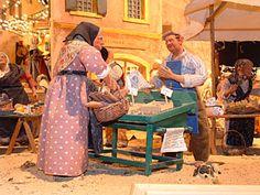 miniature model market scenes - Google Search