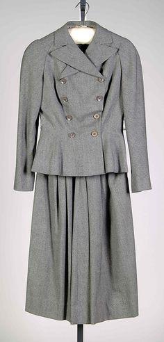 Suit 1948 Mainbocher