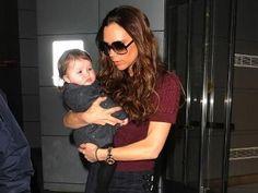 Victoria Beckham with her baby ^^