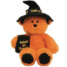 2007. Witchy the Halloween Bear. Ty Beanie Baby
