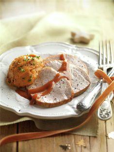 Lomo al horno paso a paso, fácil y rápido. ¿te apetece? Camembert Cheese, Dairy, Pork, Meat, Chicken, Cooking, Recipes, Christmas, World