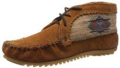 Minnetonka Women's El Paso Ankle Boot,Brown,7.5 M US