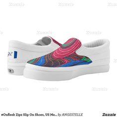 #Onfleek Zipz Slip On Shoes, US Men 4 / US Women 6 Printed Shoes