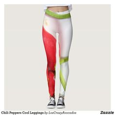 Chili Peppers Cool Leggings