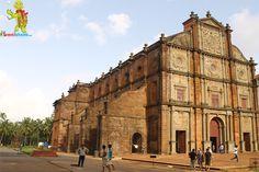 goa - bom jesus basilica church
