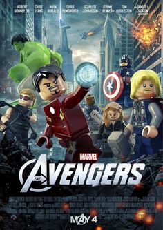 Marvel's The Avengers go Lego before May 4th!