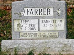 These Hilarious Tombstones Will Make You Die Laughing: We Can't All Get What We Want