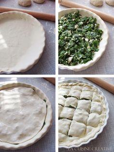 Grčka pita sa fetom i spanaćem - priprema