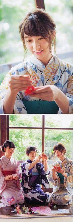 暑いから涼しげな浴衣未央奈を貼ってくぞ!BOMB 2014年8月号 堀未央奈 生駒里奈 桜井玲香|みおな日和はいい天気 (≧▽≦) 乃木坂46の未来!堀未央奈さんの応援ブログです!