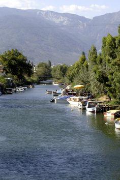 Akçay , Zeytinli'de köprü üzerinden Kaz dağları...2005
