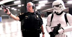 Watch the Texas Police Teach Stormtroopers How to Hit a Target -- One Stormtrooper gets a crash course in blaster practice as a Texas Officer shows the Star Wars warrior how to hit his target. -- http://movieweb.com/star-wars-stormtrooper-target-practice-video-texas-police/