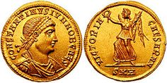 Constantine II - son of Constantine. Died while trying to exert his rights.