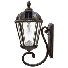 This baytown ii solar light fixture model comes with 3 mounting solar light wall mounted lantern aloadofball Images