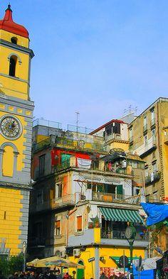 Napoli é mille colori...