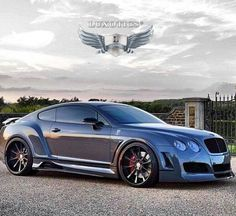 Ideas custom luxury cars bentley continental for 2019 Maserati, Bugatti, Ferrari, Bentley Continental Gt, Rolls Royce, E90 Bmw, Bmw M5, Bentley Gt, Sweet Cars
