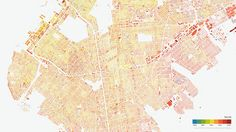 Every Building In Brooklyn, Mapped Out By Age