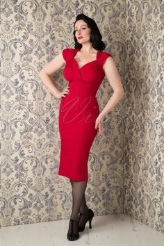 Stop Staring Harmosa Pencil Dress Red 100 20 16344 20150925 0004 WM