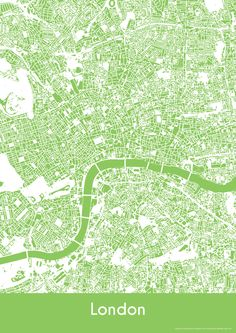 London Map - Buildings - London Print - City Map Art of London City, England by YourPlaces on Etsy London Map, London City, Coventry Map, My Building, City Maps, London Street, Map Art, Abstract Pattern, Color Splash