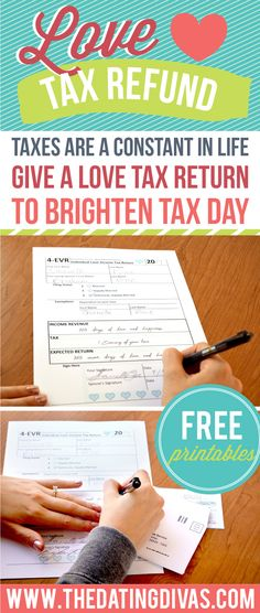 Tax Day Printable fo