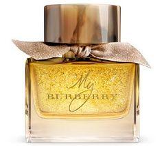My Burberry Festive Eau de Parfum Burberry perfume - a new fragrance for women 2015 Perfume Rose, Perfume Floral, Gold Bottles, Perfume Bottles, Burberry Perfume, Kate Moss, Nordstrom, Fragrance Parfum, Essential Oil Blends