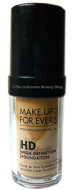 an honestly blunt review of mufe HD invisible cover foundation