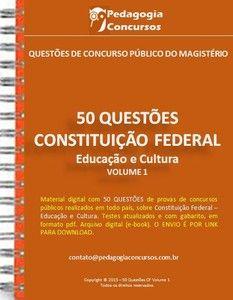 50 Questões sobre Constituição Federal