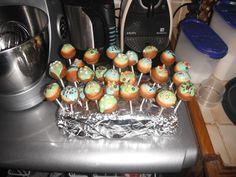 Cakes pops maisons ;)