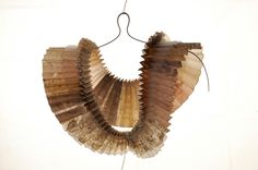 Paper necklace, by Maria Grigoriou (I think)