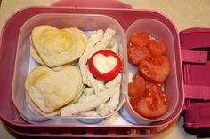 02-07-13 - heart calazones (biscuits with pepperoni and cheese)