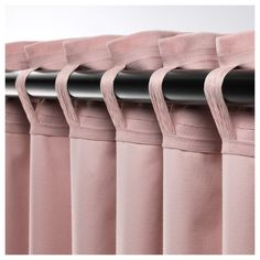 Sanela room darkening curtains, 1 pair - light pink - ikea When considering to sleeping Home Curtains, Curtains Living, Room Darkening Curtains, Panel Curtains, Ikea Curtains, Shabby Chic Curtains, Curtains With Blinds, Curtain Styles, Curtain Designs