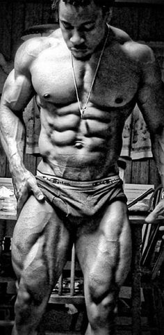ABS, THIGHS, CHEST, ARMS....THE WHOLE PACKAGE...!!!!