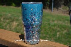 Glitter Yeti/Pink Glitter Yeti/Glitter Ozark/Glitter RTIC/Yeti Diy Tumblers, Glitter Tumblers, Glitter Cups, Custom Tumblers, Pink Glitter, Sippy Cups, Tumbler Cups, Ozark Tumbler, Fun Ideas