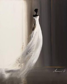 Art Print: Silhouette Feminine Art Print by Olivier Tramoni by Olivier Tramoni : Beginner Art, Poster Prints, Art Prints, White Orchids, Silhouette Art, Acrylic Art, Botanical Art, Find Art, Feminine