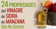 El vinagre de sidra de manzana orgánico, que contiene la cepa madre, es un líquido milagroso.