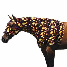 """Sleazy Sleepware Stretch Horse Hoods Black Medium (800-1100 Lbs) by Sleazy Sleepware Horse Hoods. $50.00. Sleazy Sleepwear Horse Hood Soild Black The Sleazy Stretch Hood, made from nylon or polyester spandex, is Sleazy Sleepwear for Horses'TM #1 selling item. It helps to train the mane, keeps the mane and forelock clean, smoothes the body hair and works great as a liner under heavier garments. The """"Seamless Face"""" design eliminates any seams below the eyes for maximum safety. Th..."""