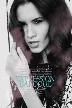 EDITORIAL EXPRESSION BAROQUE Fotógrafo: Fábio Wanderley  Edição: Douglas Carlos  Styling: Larissa Barbosa  Modelo: Annie Bastos