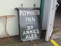 Old pub sign
